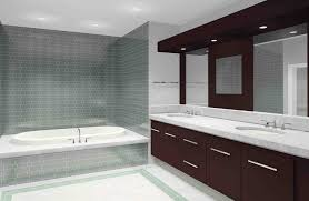 Contemporary Bathroom Cabinets - exciting contemporary bathroom design with grey ceramic wall also