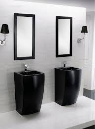 modern pedestal sinks for small bathrooms modern pedestal sink dosgildas com
