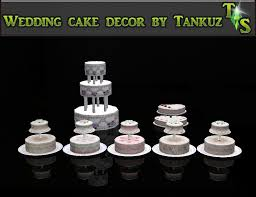 wedding cake in the sims 4 tankuz sims 3 wedding cake decor
