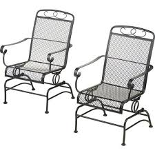 Metal Patio Chair Outdoor Metal Rocking Chairs Inspirations Home U0026 Interior Design