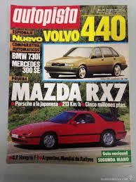 mazda argentina oficial autopista 1465 13 8 87 mazda rx7 bmw 730i autom comprar revistas