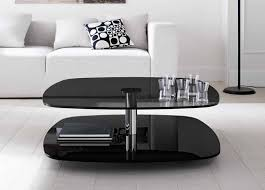 all glass end tables 10 ideas of modern black glass coffee tables