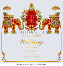 indian wedding invitations nyc indian wedding invitation card templates gold stock vector