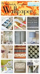 wallpaper craft pinterest 10 chic ways to use wallpaper diy projects pinterest wallpaper