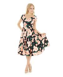 pretty dress the pretty dress company sorrento hourglass navy swing dress