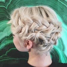 Hochsteckfrisuren Locken Kurze Haare by Die Besten 25 Haare Flechten Anleitung Ideen Auf