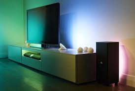 philips hue light strip behind tv philips hue entertainment is the smart lighting you ve been waiting