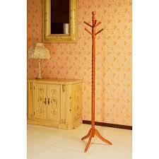 frenchi home furnishing cherry 6 hook coat rack jw102a c the