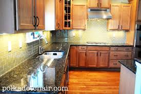 glass tile backsplash kitchen green glass tile kitchen backsplash the polkadot chair