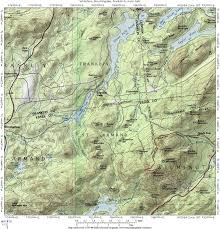 Franklin Maps Interstate 87 The Adirondack Northway Whiteface Mt Franklin