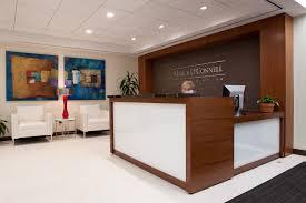 interior design home furniture cozy modern office furniture design ideas laminate reception desk