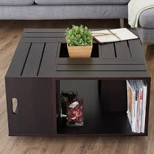 home design eras coffee tables beautiful crate coffee table diy era home design