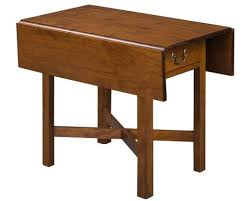 Cherry Drop Leaf Table Reproduction Side Tables The Federalist