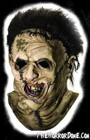 leatherface mask leatherface deluxe mask the horror dome