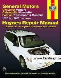 small engine repair manuals free download 1994 chevrolet s10 on board diagnostic system chevrolet venture oldsmobile silhouette haynes repair manual pdf
