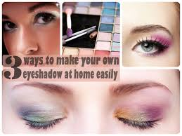 3 ways to make your own eyeshadow at home easily