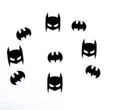 Batman Decoration Batman Inspired Confetti Batman Masks Batman Logos Batman