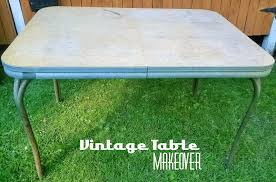 Vintage Formica Kitchen Table And Chairs by Retro Chrome Table Redo Redo It Yourself Inspirations Retro