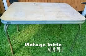 laminate table top refinishing retro chrome table redo redo it yourself inspirations retro