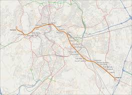 Rome Metro Map by Line A Rome Metro Wikipedia