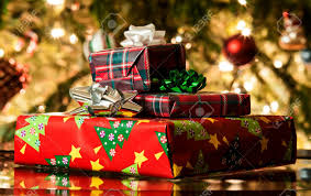 Decoration Under Christmas Tree by Different Present Boxes Under Christmas Tree In Holiday Eve