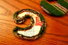 christmas ornaments from wool sweater craft buds