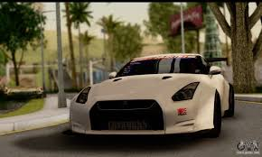 nissan gtr gta v nissan gtr r35 tunable v2 for gta san andreas