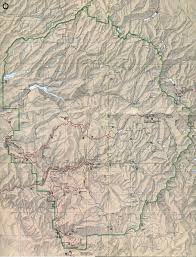 Us Map Topography Yosemite Historic Maps Yosemite Library Online