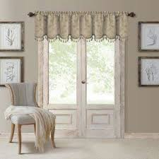 Chocolate Brown Valances For Windows Window Scarves U0026 Valances Window Treatments The Home Depot