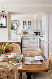 furniture in kitchen eat in kitchen design ideas southern living