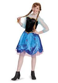 tween frozen traveling anna costume