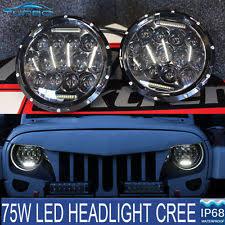jeep wrangler blue headlights headlights for jeep wrangler ebay