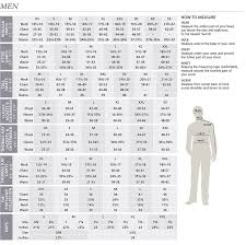 pendleton clothing size chart