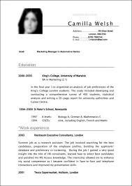 Example Of A Well Written Resume by Curriculum Vitae How To Write A Reference Sheet Qa Cv Example