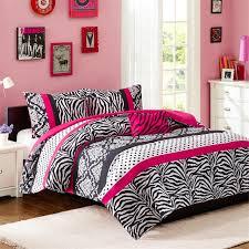 black and white girls bedding pink zebra bedding twin zebra black lavender pink short fur