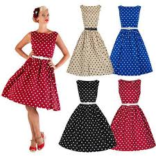 aliexpress com buy women retro boat 1950 u0027s hepburn full dress