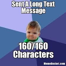 Create Meme Text - sent a long text message create your own meme