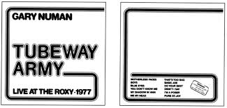 tubeway army 20th anniversary edition 1998
