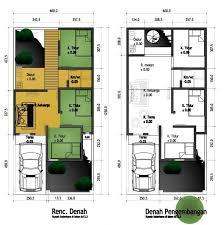layout ruangan rumah minimalis model desain tak depan rumah minimalis 2 lantai yang mungil dan