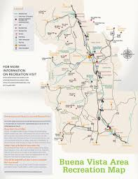 San Luis Valley Colorado Map by Buena Vista Colorado Recreation Map U2013 Go To Guide