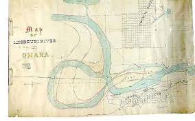 map of missouri river a pre 1877 map of the missouri river omaha historical maps
