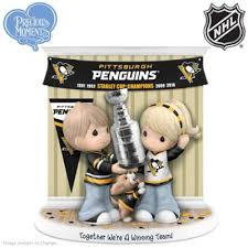 precious moments together were a winning team pittsburgh penguins