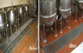 Commercial Kitchen Flooring Epoxy Flooring Kitchen Metallic Epoxy Basement Floor Metallic