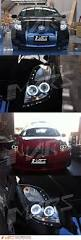 lexus lights for toyota yaris jdm black ccfl angel eyes projector head lights toyota yaris 05 08