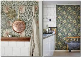 kitchen wallpaper 15 suggestions for any interior u0026 getting guide