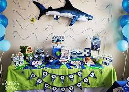 kara u0027s party ideas shark party ideas planning idea supplies