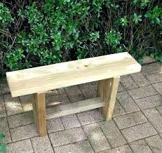 how to make an outdoor table making a garden bench from pallets making a garden bench a simple