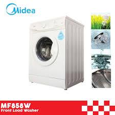 front load washer fan midea mf858w front load washer 8 5kg