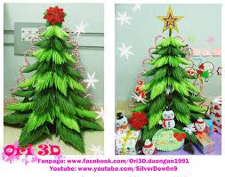 marvelous origamistmas tree for ornament