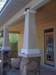 Interior Home Columns Craftsman Style Bungalow House Plans Porch California Home Columns